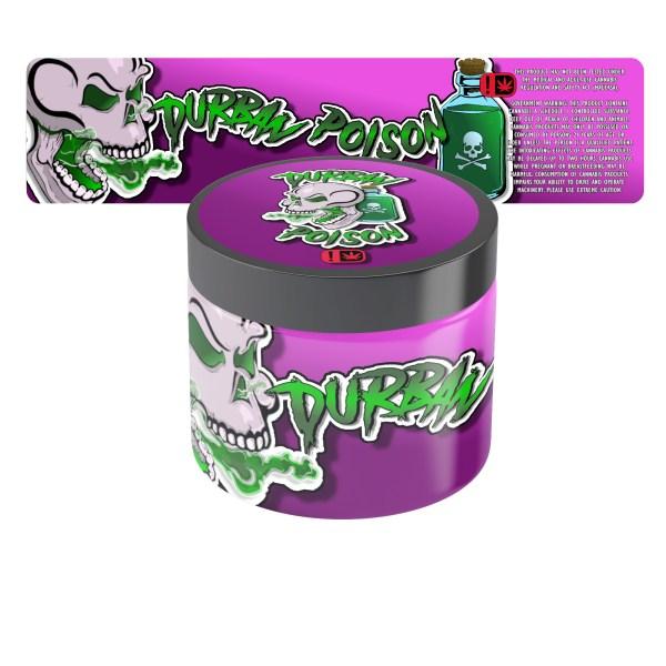 Durban Poison Jar Labels