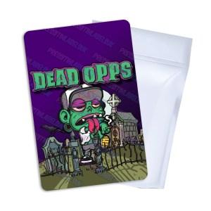 Dead Opps Mylar Bag Labels