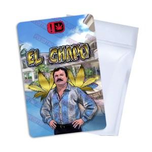 El Chapo Mylar Bag Labels