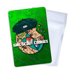 Girl Scout Cookies T2 Mylar Bag Labels