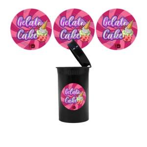Gelato Cake Slap Stickers