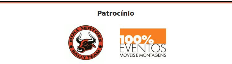 rodape sem assinatura - Michel Terpins/Beco Andreotti são vice-campeões do 20º Rally dos Amigos