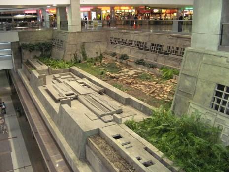De Maya ruïnes