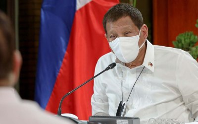 Duterte wants mask-wearing policy violators detained for 9 hours