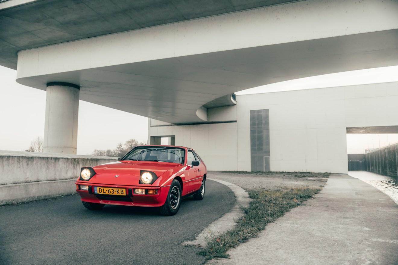 Een Porsche 924 cadeau