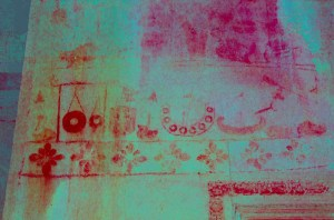Angkor Wat murals recently uncovered by digitally enhanced photography