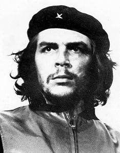 Che Guevera's iconic photo that is worn by millions on shirts and stickers