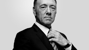 Kevin Spacey won a Golden Globe for his performance in House of Cards.