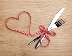 On Valentine's Day cook a homemade meal for your loved one.