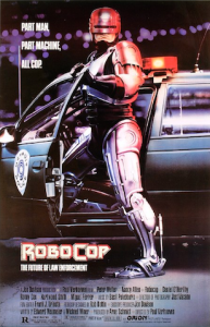 Robocop,. a robot film made in 1987, is still popular today.
