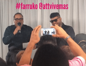Farruko loves interacting with his fans.