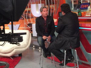 Ricardo Montaner is on a media tour to promote a series of concerts in Miami and New York.