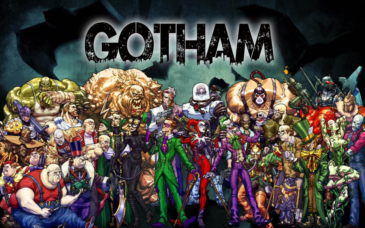 Villans of the new show Gotham that will be on Fox this fall