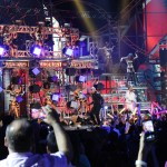 Pitbull's performance at Premios Juventud 2014 made people want to dance.