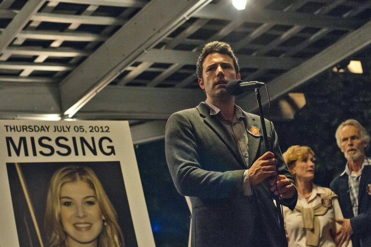 Ben Affleck's Gone Girl was snubbed at the 2015 Golden Globes