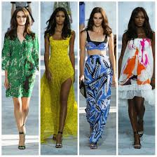 New York Fashion Week 2015 displayed Diane Von Furstenberg's vibrant collection.