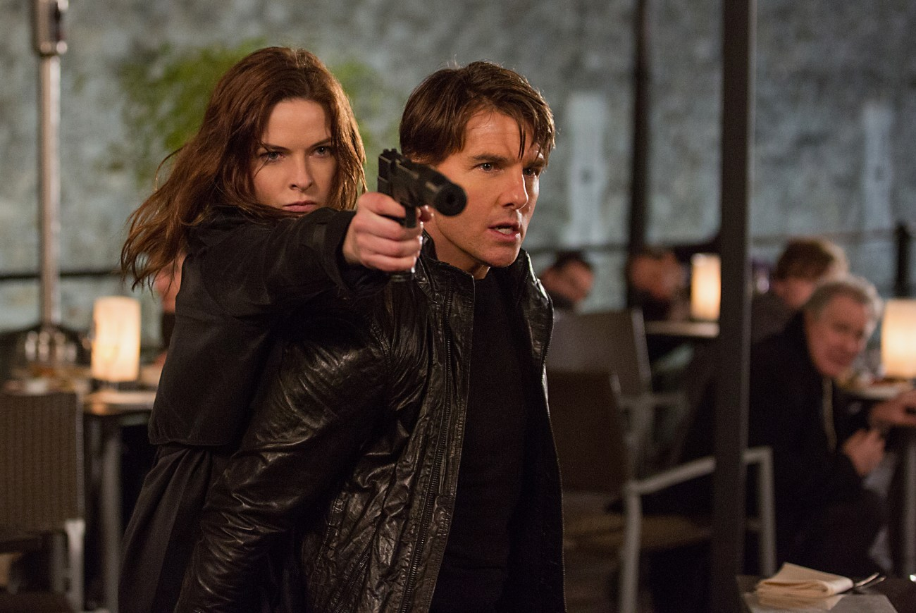 Rebecca Ferguson delivers kick ass performance in Mission Impossible - Rogue Nation