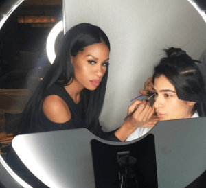 Celebrity make up artist Mila Thomas loves working with actresses like Diane Guerrero.