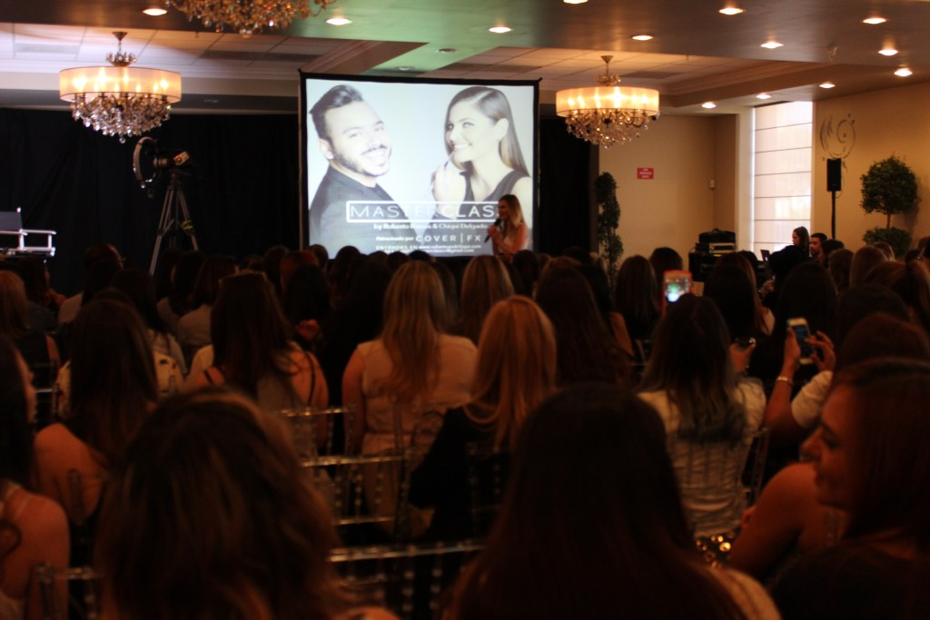 The first ever make-up master class held by Roberto Ramos and Chiquinquira Delgado took place in Coral Gables, Florida.