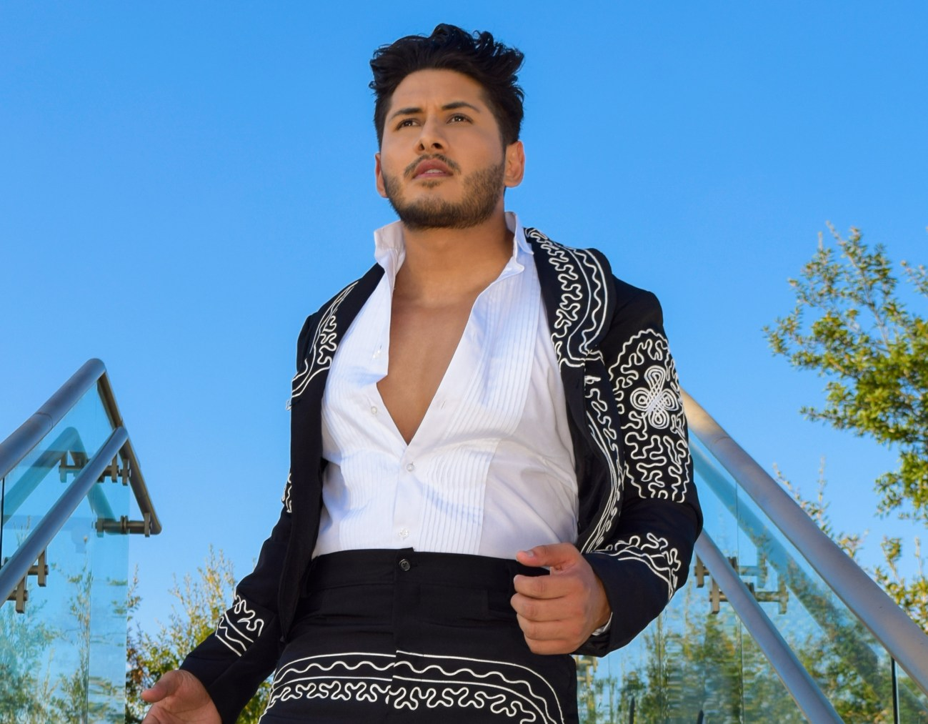 Leyo is a latin pop artist who lives in Los Angeles.
