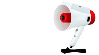 メガホン型多言語音声翻訳サービス「メガホンヤク」 – パナソニック