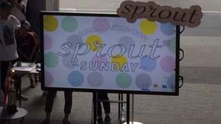 【潜入】sprout#18 nana music /ecbo/SAGOJO /ブライトテーブル/コーデセブン/自転車創業