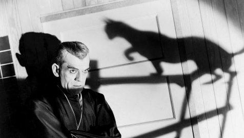 The Black Cat (1934), Reg.: Edgar G. Ulmer. Mit Bela Lugosi, Boris Karloff