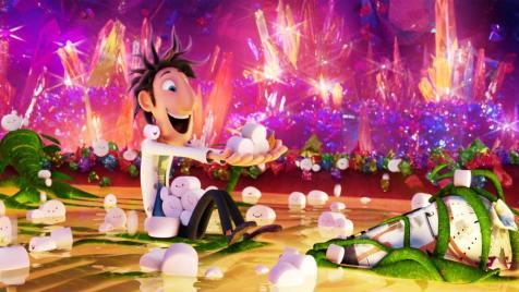 Wolkig mit Aussicht auf Fleischbällchen 2 (Animation). Regie: Cody Cameron, Kris Pearn. 25.10.