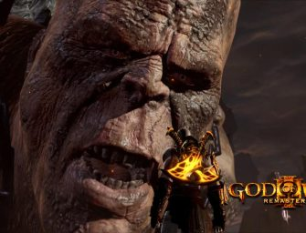 Trailer: God of War III Remastered
