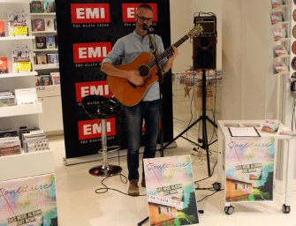 Soulitaire unplugged im EMI Music Store Wien