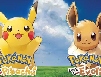 Pokemon Let's Go Pikachu / Evoli