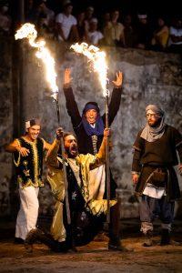 como era a vida na epoca medieval à noite
