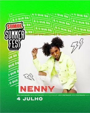 nenny no sumol summer fest 2020