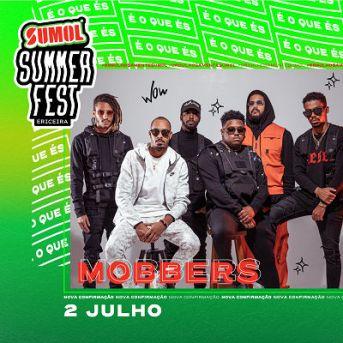 Mobbers no cartaz sumol summer fest 2021