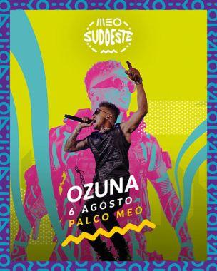 Ozuna no cartaz meo sudoeste 2021