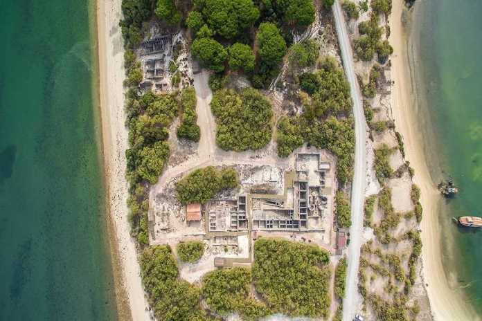 ruinas romanas troia