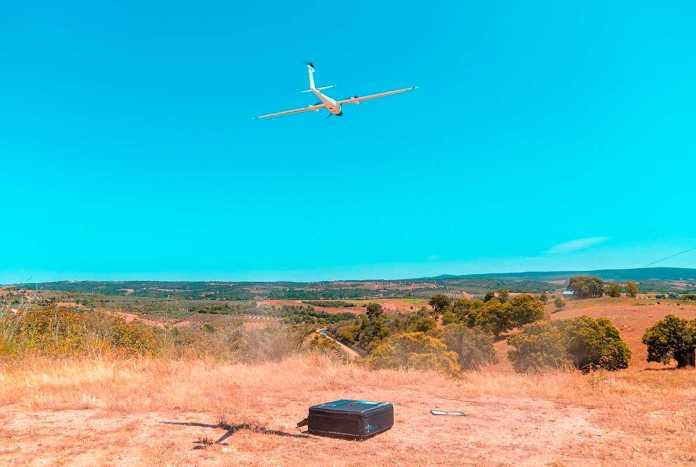 detecao de fugas de agua drone