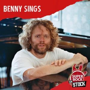 BEnny sings no cartaz super bock em stock 2021