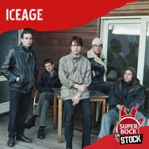 iceage no cartaz super bock em stock