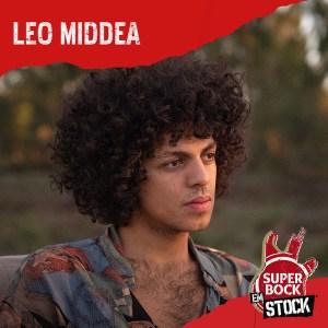 Leo Meddea no cartaz super bock em stock