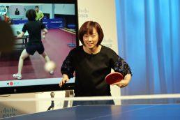 卓球の石川佳純が最新IoTを導入…練習方法や戦い方にテクノロジーを駆使 撮影:山口和幸