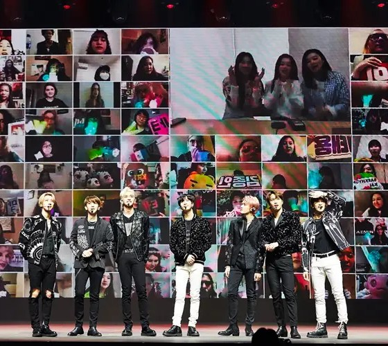 SuperM starts off the future of concerts with world-1st online-only concert