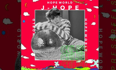 BTS J-Hope Mix Tape 'Hope World' Fiji iTunes 1st place, Accumulated 81 Countries