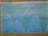 1597350 thum - ゆるりと3色パステル画ワークショップ&ミニ展示会 in ウェルカフェ(海のくらげか抽象画を描く)