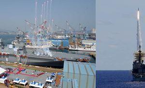 1111 03 1 - 韓国・馬羅島艦の最新艦対空ミサイル「海弓」プロペラ機しか撃ち落せない?