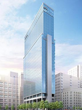 0111 05 1 - 港区新橋 建設中超高層ビルで火災 ゼネコン大林組施工中 NTT都市開発+JR九州