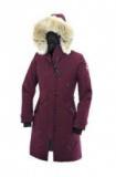 1611385 thum 1 - 軽くて保温性の高いCanada GooseカナダグースコピーダウンジャケットKensington Parka ロングダウンコートホワイト 6色可選レディースダウンウェア