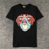 1611686 thum 1 - 犬の頭図案 ジバンシー GIVENCHY 特に人気がある 半袖Tシャツ 2色可選 おしゃれ流行 好感度120%