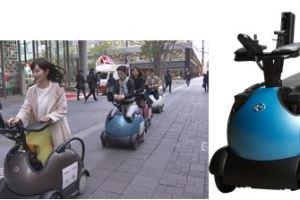 0318 14 1 - テムザック「RODEM」丸の内を疾走 車椅子型モビリティ 観光走行実験/NTTドコモ