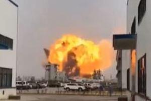 0322 06 1 - 江蘇省塩城市の化学薬品工場爆発 6人死亡30人重傷 何回も行政処罰